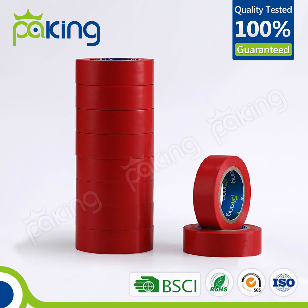 New Product Red PVC Electrical Insulation Tape