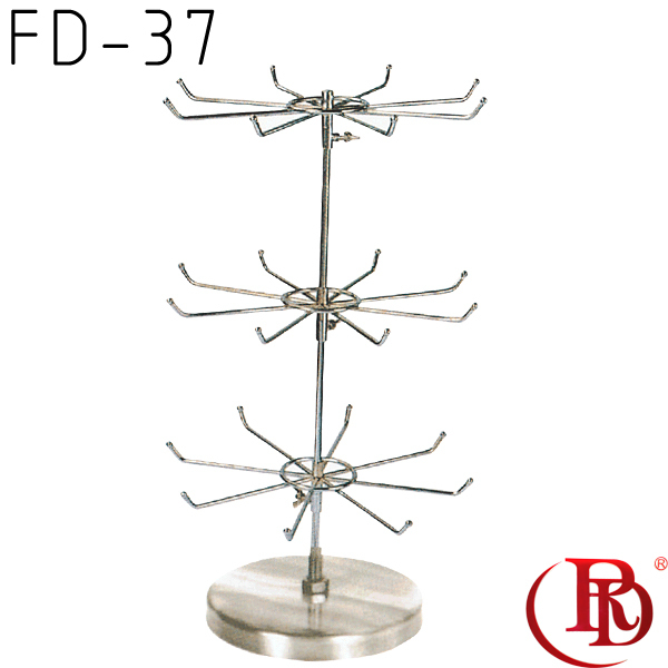 FD-37 spinning counter top display rack