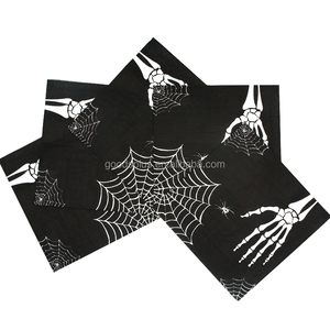 100% Virgin Wood Pulp Halloween decorative Print Paper Napkins