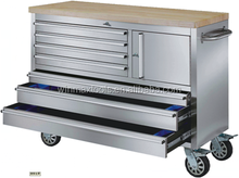 professional 7 drawers stainless steel roller cabinet