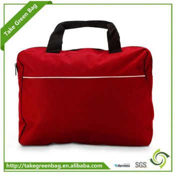 Latest product excellent quality promotional non woven messenger bag from manufacturer