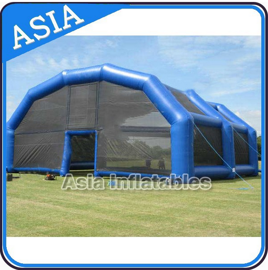 Fashion inflatable Sealed House Tent, Car Storage Tent Inflatable Marquee