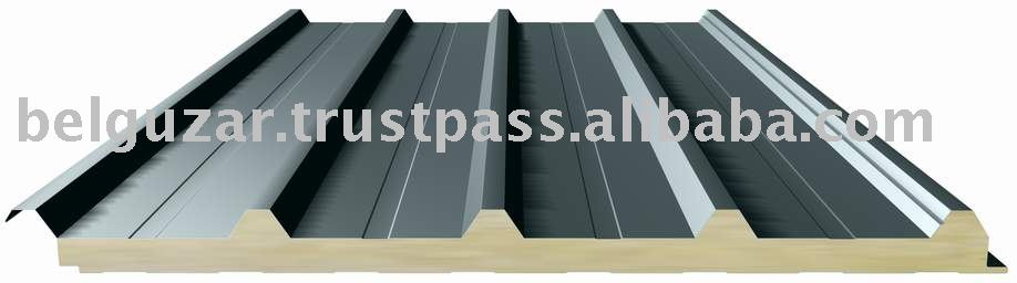 Teknopanel RR-5S Rockwool/Glasswool Insulated Roof Sandwich Panel