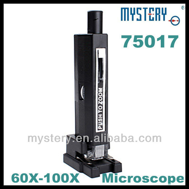 75017 60-100X Zoom-Lens Microscope with Light,zoom microscope