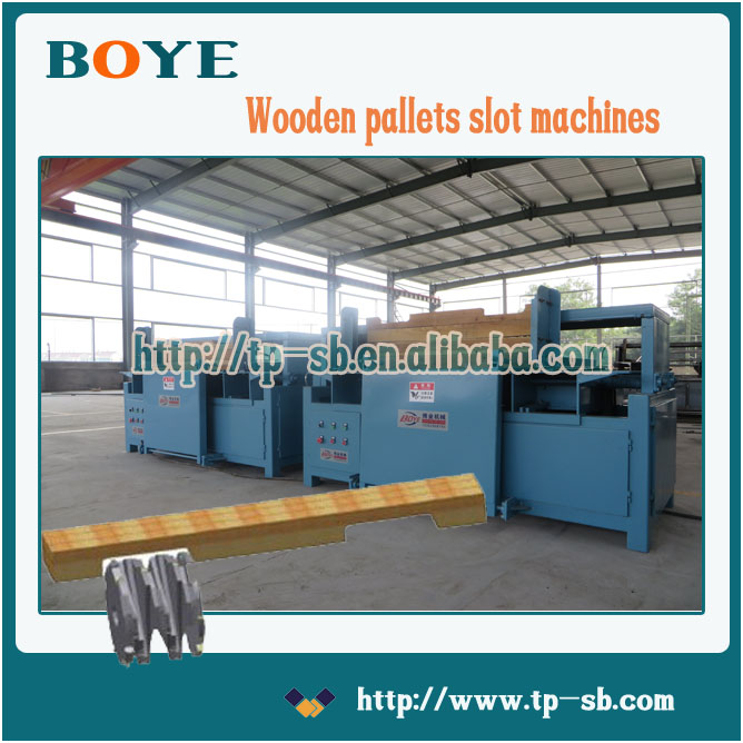 wood pallet machine