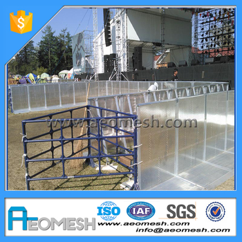 China Factory Price Crowd Events Stage Safety Barrier