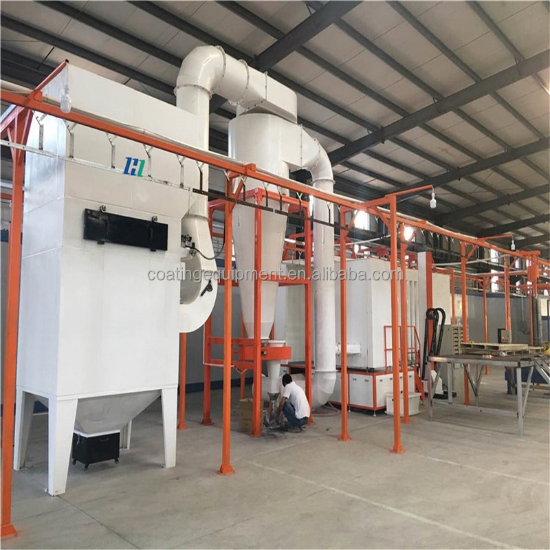 Fence Electrostatic Powder Coating Line Manufacturers