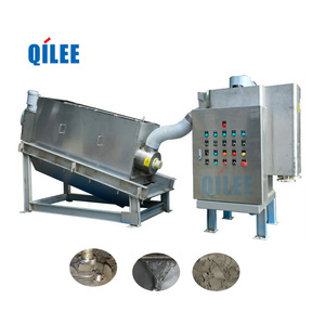 Filter Press Screw Automatic Stacked Type Sludge Dewatering Machine