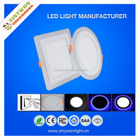 For distributors city design wanted slim led panel light double color