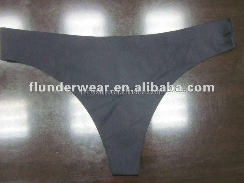 Factory price alibaba express soft seamless ladies thong adhesive bonding string girl's T-back