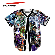 Custom dry fit baseball jersey with sublimation camo printing