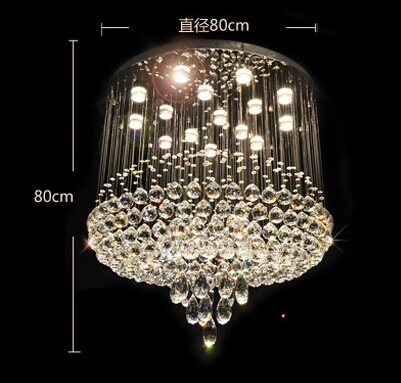 crystal decorative pendant light