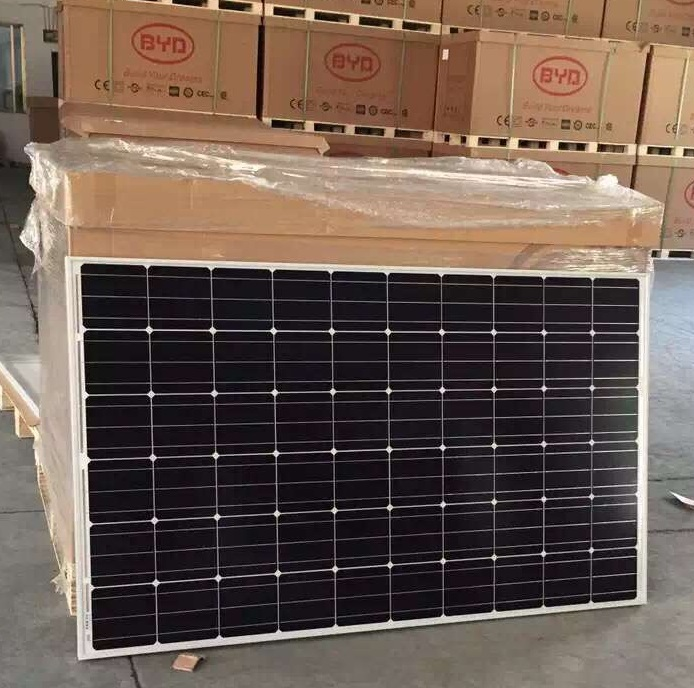 High efficiency hot sale 250W 30V mono solar panels in dubai