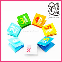 7 Days condom Dots passion condom with spiral lamination hot thin condoms OEM