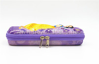 Fashion wholesal eva pencil case with flower design