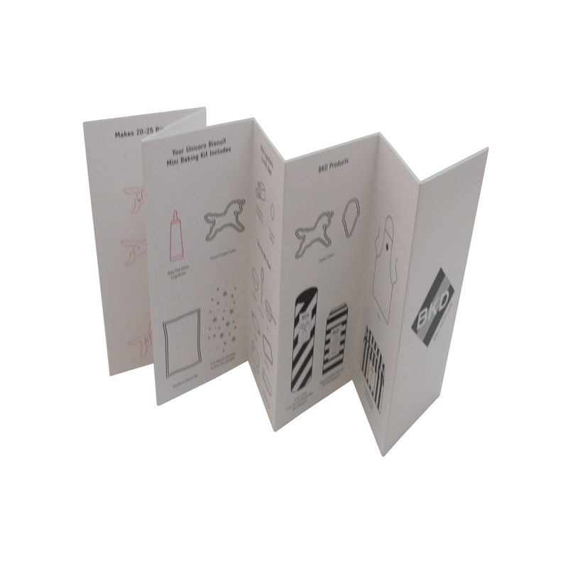 leaflet Offset Printing Paper Design Brochure Instruction Manual Book
