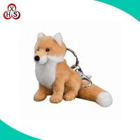 New Design Plush Fox Keychains In Factory Price