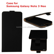 For Samsung Galaxy Note 3 Neo N7505 TPU Cover Leather Flip Case