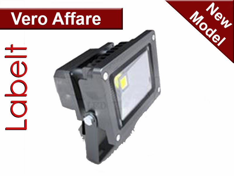 OUTDOOR LED FLOODLIGHT 10W / FARETTO LED 10W DA ESTERNO