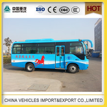 china minibus 30 seater bus new colour low price sale