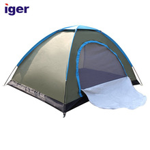 european professional single custom print small camping tent