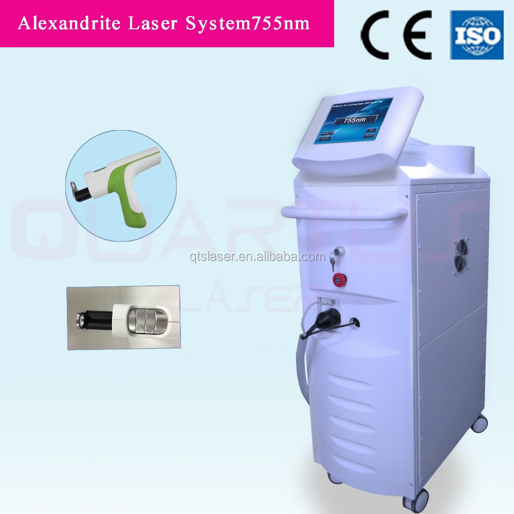 2016 best hair removal 755nm alexandrite alexandrite laser machine