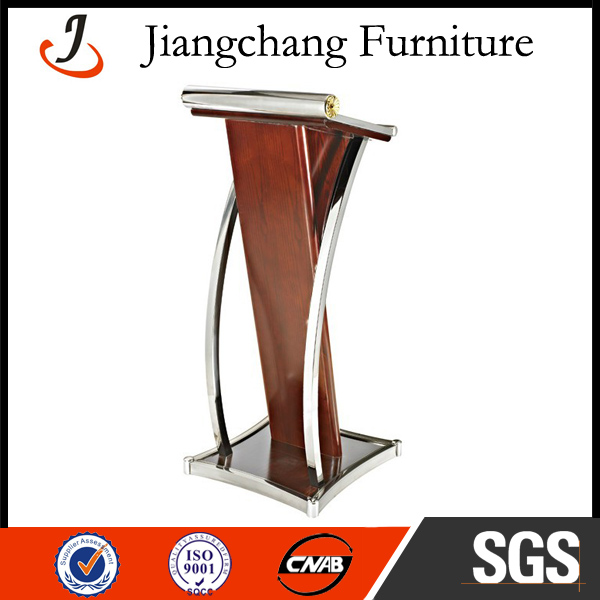 Stainless Steel Metal Modern Lectern Podium JC-JT03