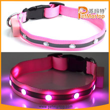 Hot selling super bright flashing led pet jewelry TZ-PET1002