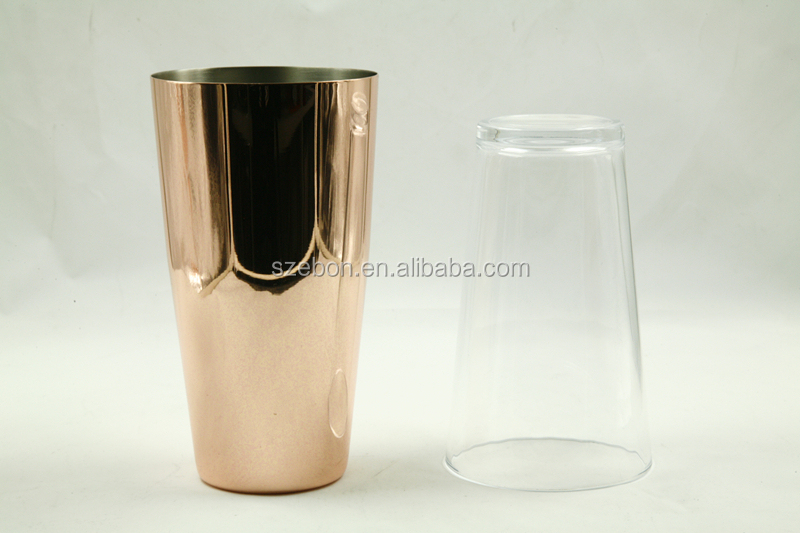 stainless steel cocktail shaker set/boston wine set/bar set