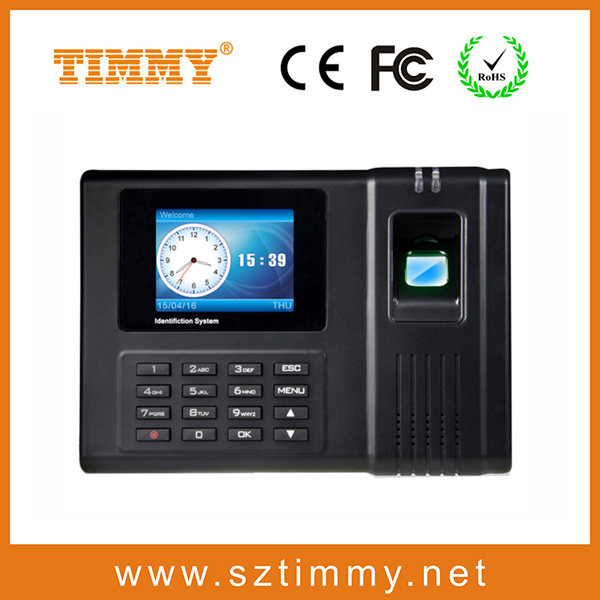 simply operation fingerprint biometric attendance time recorder machine(OP1200)