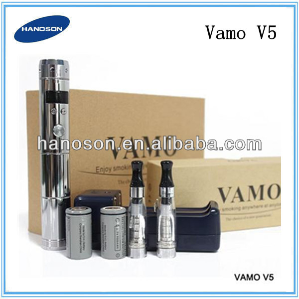 High end Best price Vamo V5 variable voltage mod with vamo extension tube, Vamo V5 ecig kit