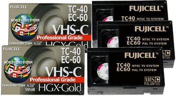 Professional Grade Camcorder Video Tapes