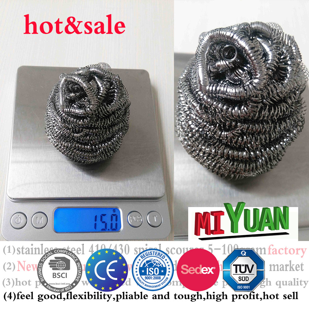 galvanized wire rolls scrubbers wool steel co sponge for sofa,stainless steel scourer