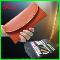 OEM welcome China factory wholesale genuine leather wallets for girls or young ladies