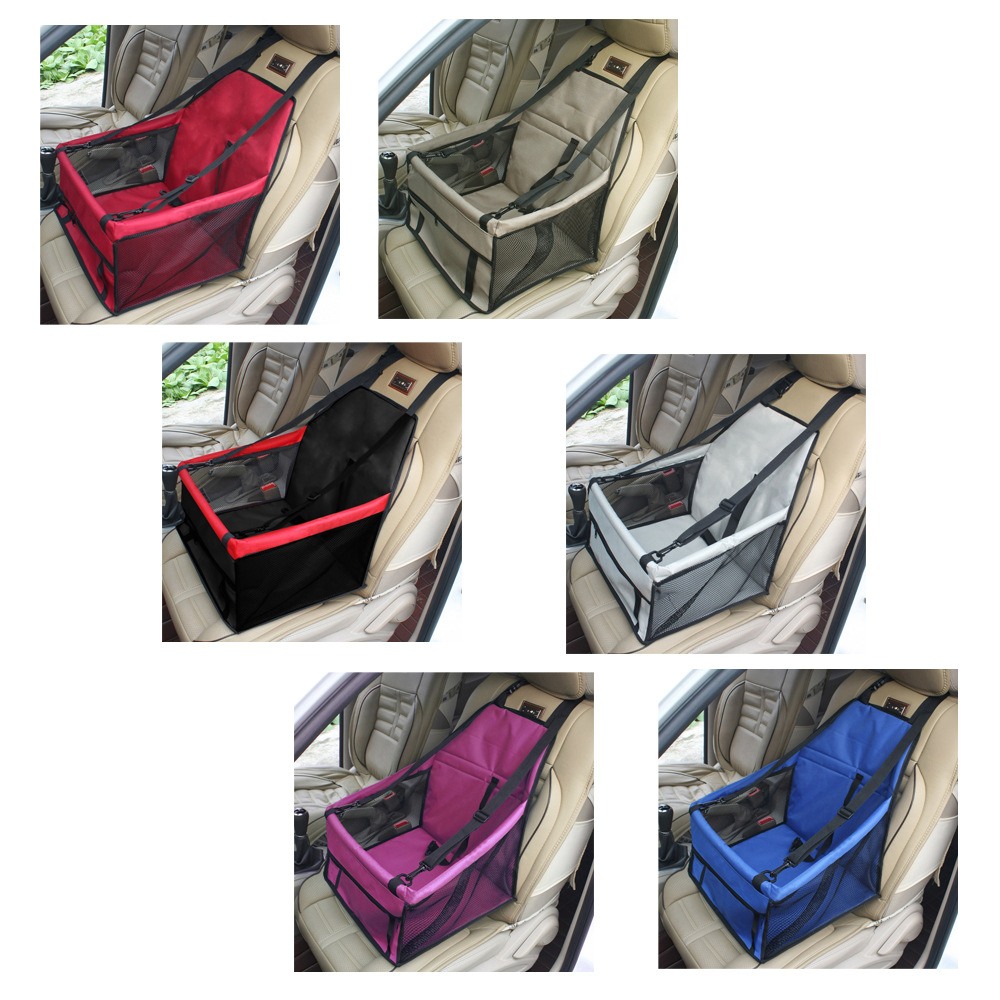 New Sales Waterproof Foldable Breathable Oxford Dog Car Carrier Pet Big Travel Bags