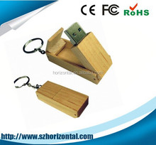 EU standard natural wood high quanlity wood usb flash drive for promotion