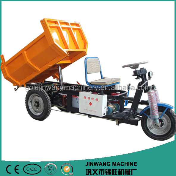 delivery van battery-operated 3 wheel transport vehicle