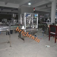 Factory direct sale argan oil bottle filling capping machine