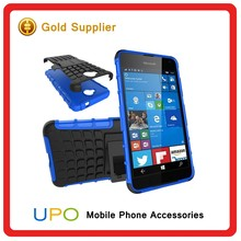 [UPO] 2016 New Arrival Phone Cases Manufacturer Shockproof Kickstand Holster Cases Cover For Nokia Lumia 650 With Belt Clip