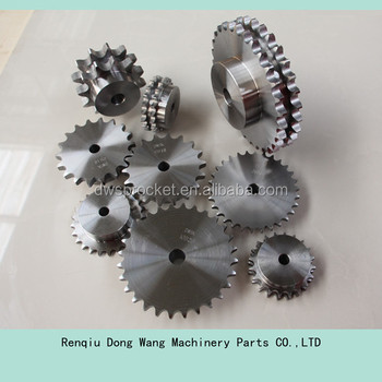 DIN standard sprocket/ roller chain sprocket