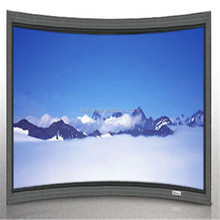 Black Diamond curved Screen for projection / curved fixes frame projector screen