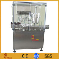 Shanghai GMP Syrup Filler Stopper Capper packaging machinery , Syrup Filling Machine TOFSC-3-1-1B