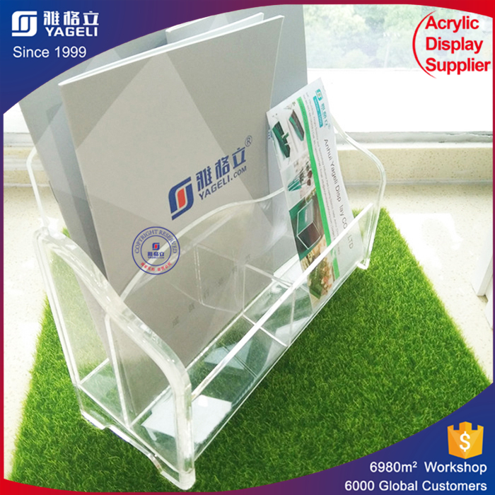 Yageli Your trust worthy supplier offer perspex brochure magazine holders