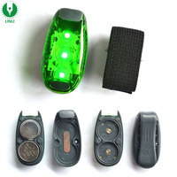 LED Clip On Strobe/Running Lights for Runners/Dogs/Bike/Walking,The Best High Visibility Accessories Reflective LED Saft Light