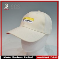 6-panels cotton sport baseball cap material