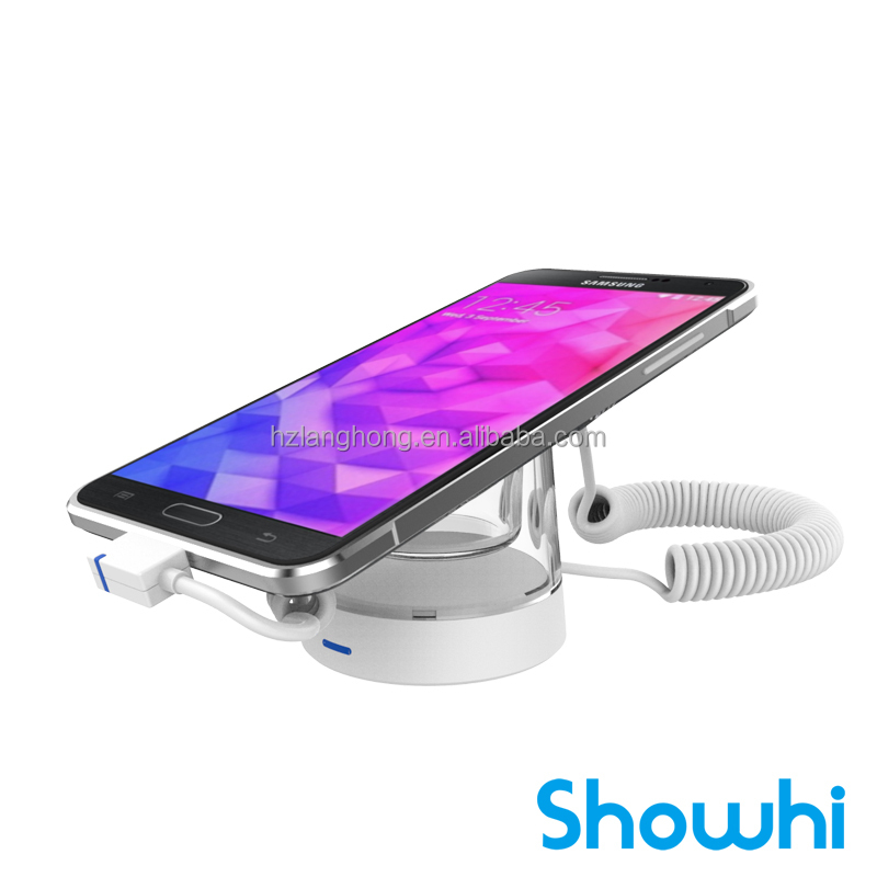 Showhi new release popular cell phone display security system with charge alarm function H7400