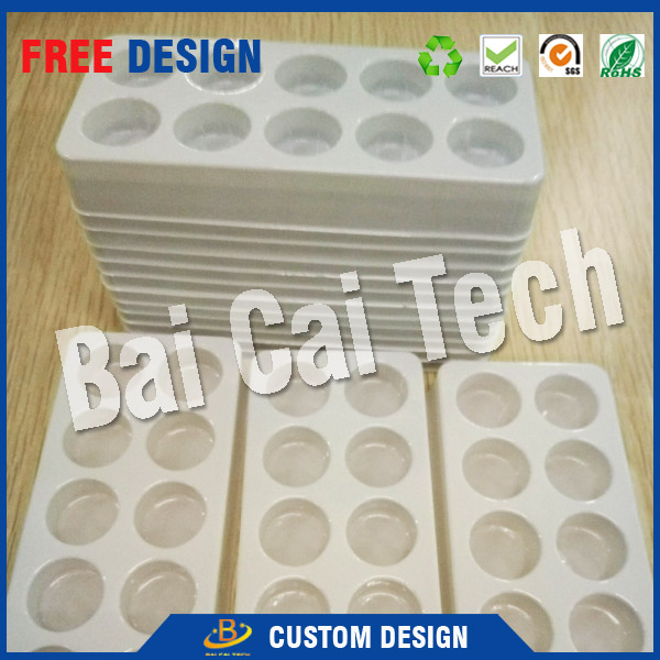 Waterproof plastic blister tray packing for cosmetic for wholesales