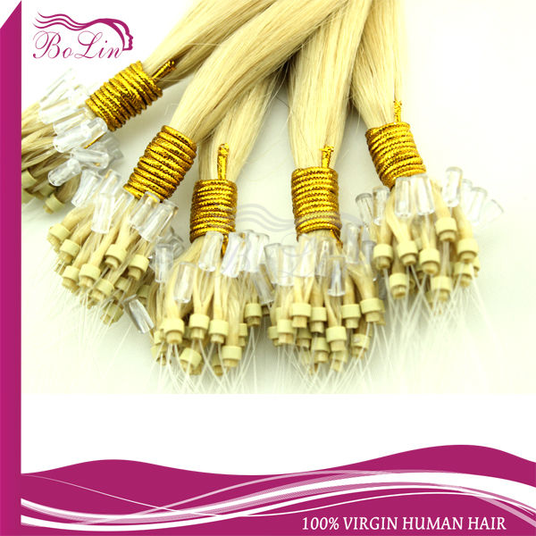 Hot selling virgin european micro braid weft