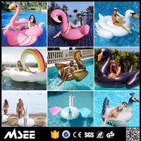 Alibaba Retail Inflatable Unicorn Float Unicorn/Flamingo Pool Float