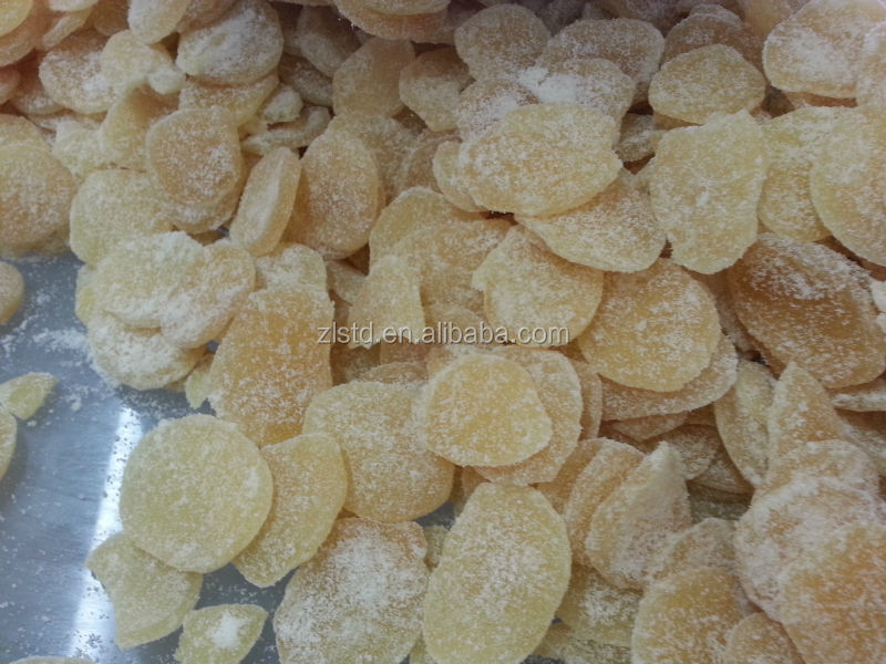 Crystallized ginger for sale production